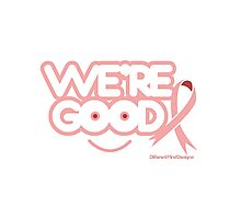 Breast Cancer Awareness Graphic Tee 1 Photographic Print