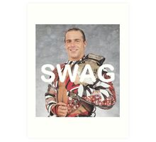 Shawn Michaels Swag Art Print