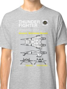 Owners' Manual - Buck Rogers Thunderfighter - T-shirt Classic T-Shirt