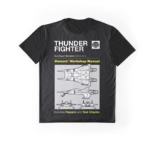 Owners' Manual - Buck Rogers Thunderfighter - T-shirt Graphic T-Shirt
