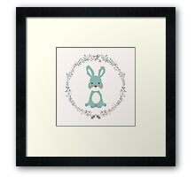 Cute bunny, 01 Framed Print