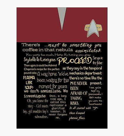 Janeway's wit Photographic Print