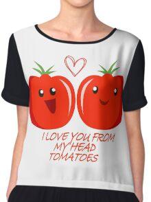Tomatoes Chiffon Top