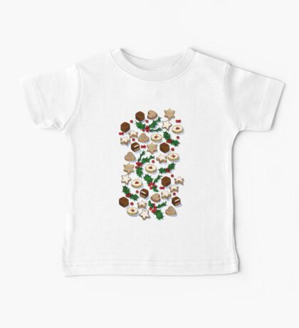 Christmas Treats and Cookies Baby Tee
