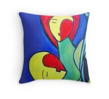 Triumph of Love Throw Pillow