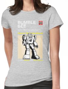 Owners' Manual - Bumblebee (Transformers) - T-shirt Womens Fitted T-Shirt