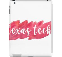 Texas Tech iPad Case/Skin
