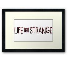 Art of Life is Strange - Videogame Framed Print