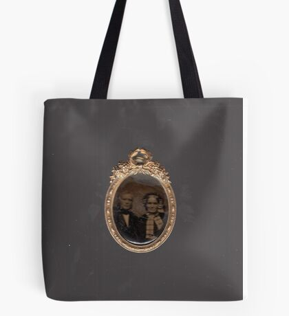 'Tintype Photo' scan Tote Bag