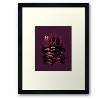 Friends you know Framed Print