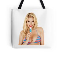 Kate Upton Tote Bag