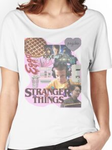 STRANGER THINGS COLLAGE♡ Women's Relaxed Fit T-Shirt