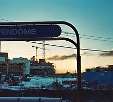 Vendome Train Station by Caitlin Aboud