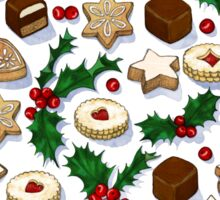 Christmas Treats and Cookies Sticker