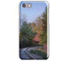 Autumn Tracks iPhone Case/Skin