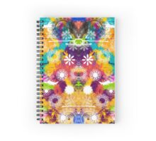Colours in Love with MANDALA Spiral Notebook