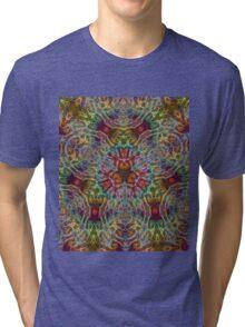 traingular ganesha mandala Tri-blend T-Shirt