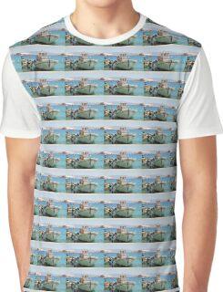 Halki fishing boats, Greece Graphic T-Shirt