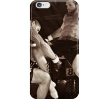 Flying Knee iPhone Case/Skin