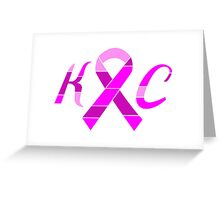 KC Breast Cancer Awareness Greeting Card