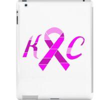 KC Breast Cancer Awareness iPad Case/Skin