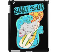 Surfing Wolfy iPad Case/Skin