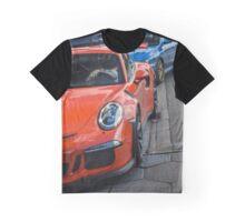 Porsche 991 GT3RS & Subaru WRX STI Graphic T-Shirt