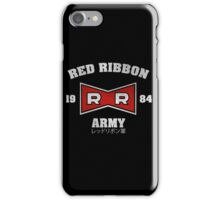 Red Ribbon Army iPhone Case/Skin