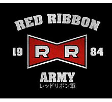 Red Ribbon Army Photographic Print