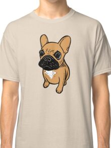 Fawn Frenchie Puppy  Classic T-Shirt