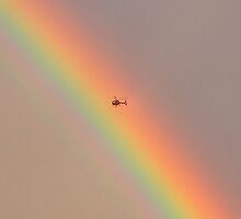 I wonder what it is like to touch a rainbow? by JamesA1