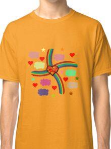 Rainbow Love Utopia Classic T-Shirt