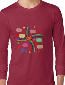 Rainbow Love Utopia Long Sleeve T-Shirt