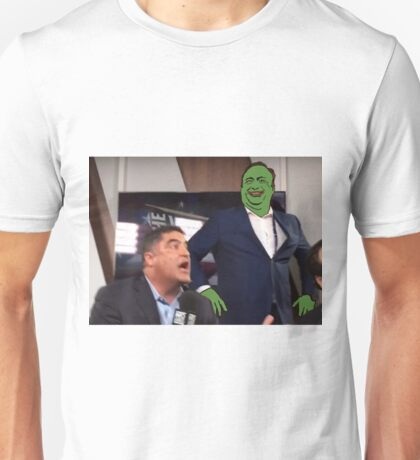 Pepe - Alex Jones edition Unisex T-Shirt