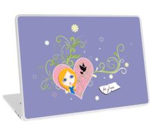 Be Free to Be Yourself Laptop Skin