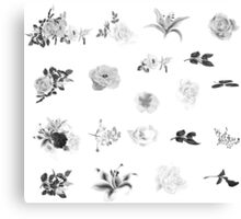 Cute Vintage floral art : 30s edition / New arrival in shop Canvas Print