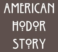 American Hodor Story Kids Clothes