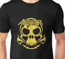 Anthrax Band Skull Unisex T-Shirt