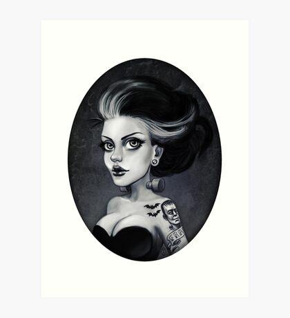 Bride of Frankie Art Print