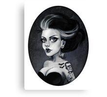 Bride of Frankie Canvas Print