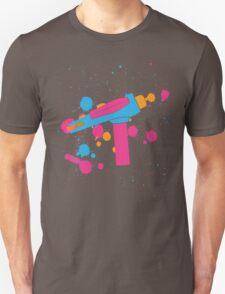 Phaser Paint Splatter (Full Color) T-Shirt