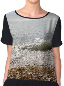 Seascape Chiffon Top
