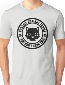 Cute Pussies Against Trump Unisex T-Shirt