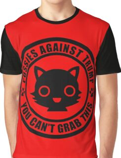 Cute Pussies Against Trump Graphic T-Shirt