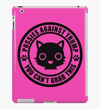 Cute Pussies Against Trump iPad Case/Skin