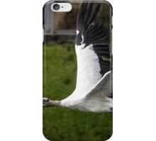 Wood Stork in Flight iPhone Case/Skin