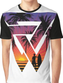 surfing with cool shape Graphic T-Shirt
