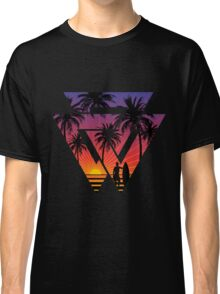 surfing with cool shape Classic T-Shirt