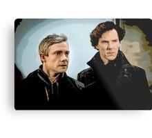 Sherlock 2 Metal Print
