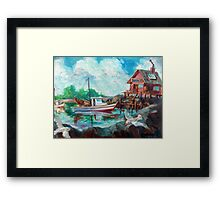 Shrimp Boat Framed Print